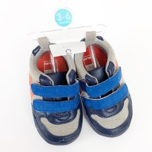 NEW Carter's baby boy soft sole sneakers